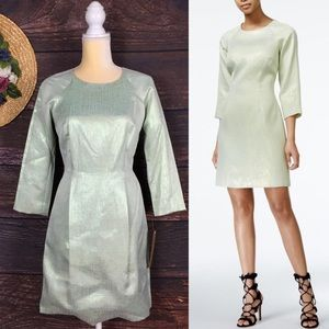 Rachel Roy mint green sheath dress